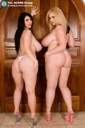 Score Land Big Tits Karina Hart and Ashley Sage Elisson
