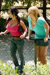 Maggie Green and Denise Milani Big Boobs Video/Pics