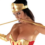 Magnificent Denise Milani is Now Officially a Superwoman
